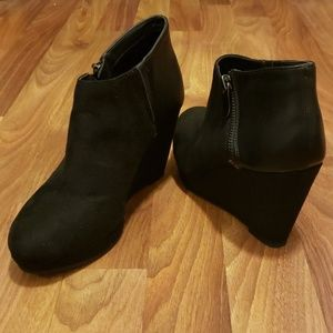 CL by Laundry Black Booties